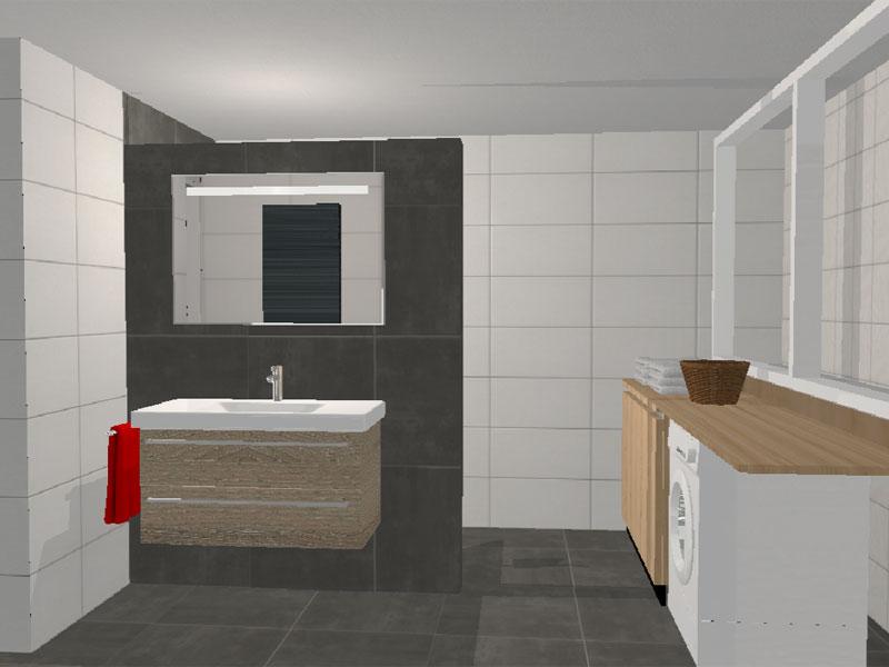 Badkamer Renovatie Deurne : Renovatie badkamer bestaande woning deurne plaatsen dakkapel