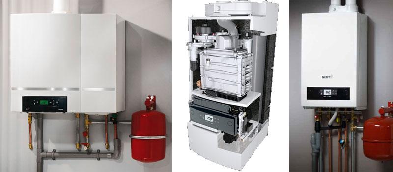 Centrale verwarming met een hr-ketel voor comfortabele, energiezuinige verwarming en snel warm water.
