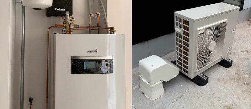 Nefit EnviLine, warmtepomp voor het duurzaam verwarmen en koelen van uw woning