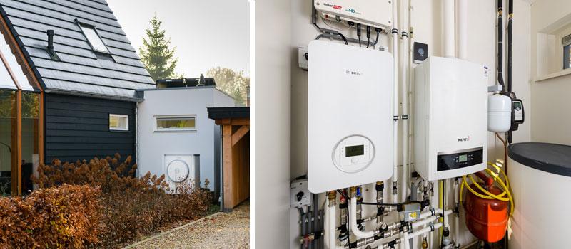 De nieuwe Nefit/Bosch Compress binnen- en buitenunits warmtepompen