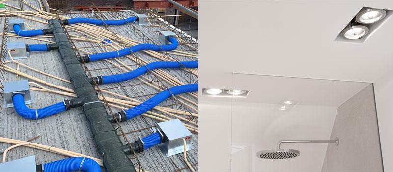 Airspot, de combinatie van ventilatie en verlichting.