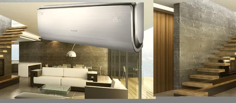 Een heerlijk koel huis in de warme zomer! Verhoog uw leefgenot met een Gree airconditioner.