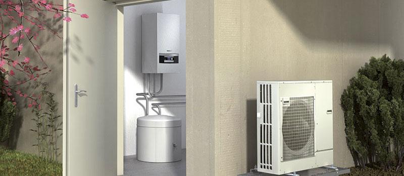 Nefit EnviLine split warmtepomp voor verwarming en koeling