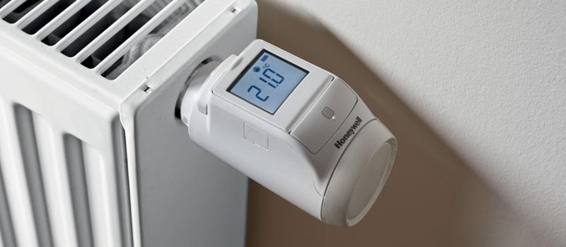 Evohome op radiator