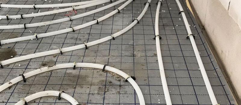 Vloerverwarming aanleggen ideaal in combinatie met een warmtepomp ...