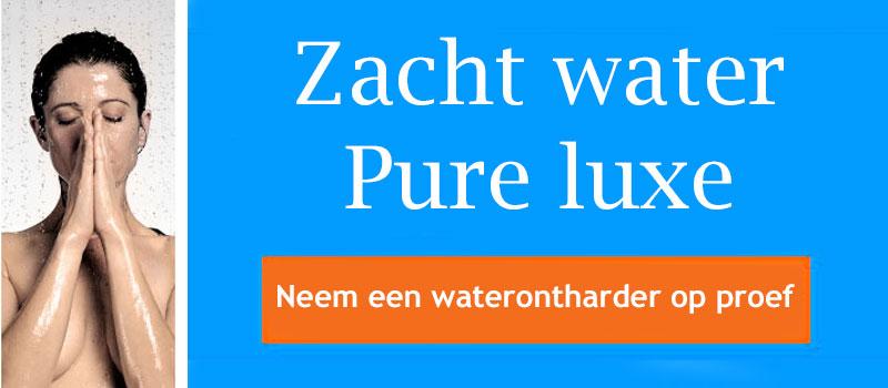 Zacht water met een Lubron waterontharder
