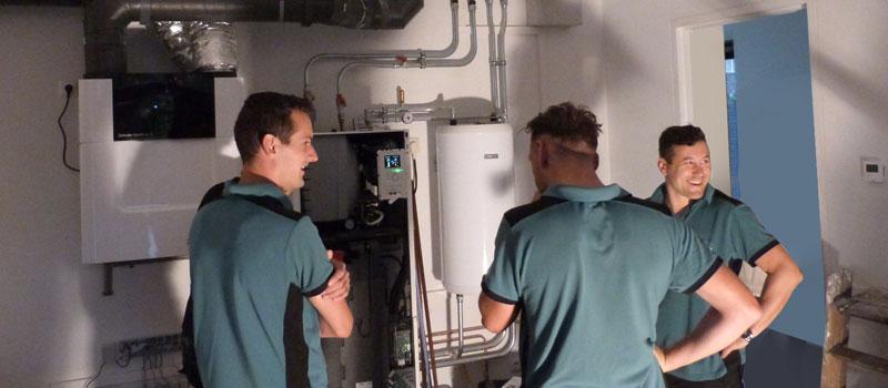 Verhees en van Dijk, erkend installateur Techniek Nederland en InstallQ
