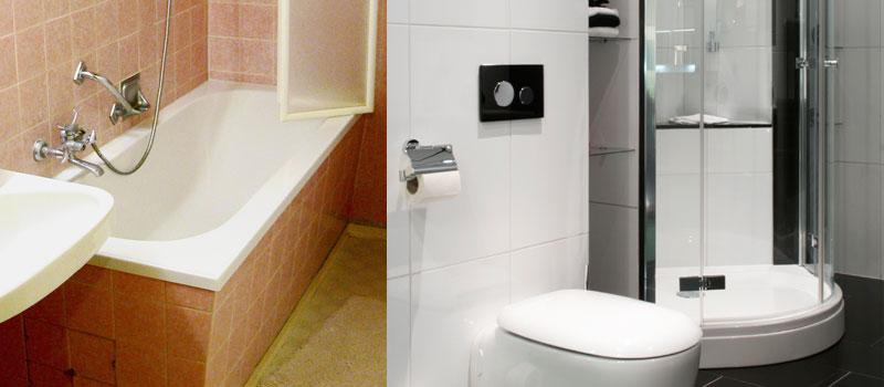 Vervang uw bad door een moderne douche. Veilig en met nauwelijks overlast!