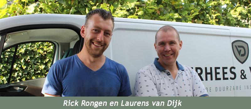 Verhees en van Dijk, een hecht team ervaren vakmensen