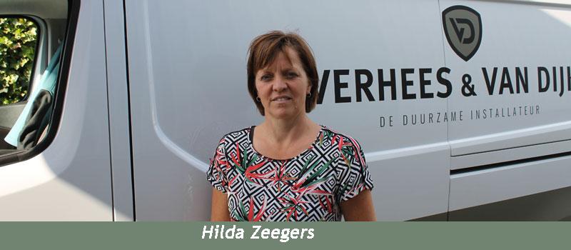 Verhees en van Dijk, een hecht team ervaren vakmensen, Hilda Zeegers