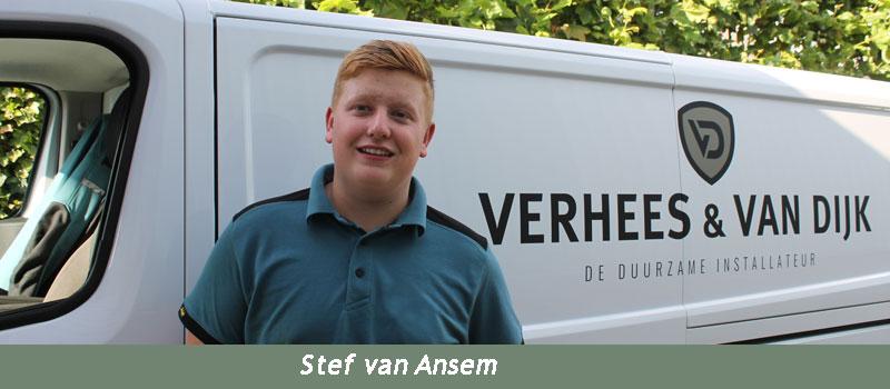 Verhees en van Dijk, een hecht team ervaren vakmensen, Stef van Ansem
