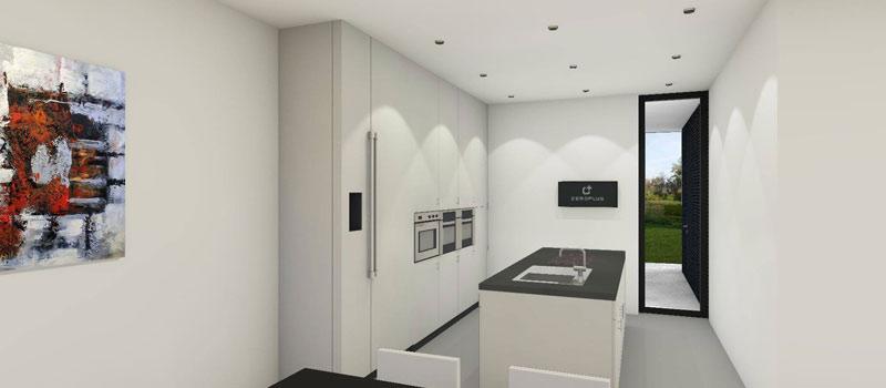 Alle woningen zullen gebouwd worden met de snelle, lichtgewicht staalframe bouwmethode van Nedframe.