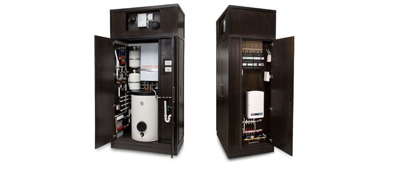 De ZeroPlus woningen worden standaard uitgerust met de E-Combi Box.
