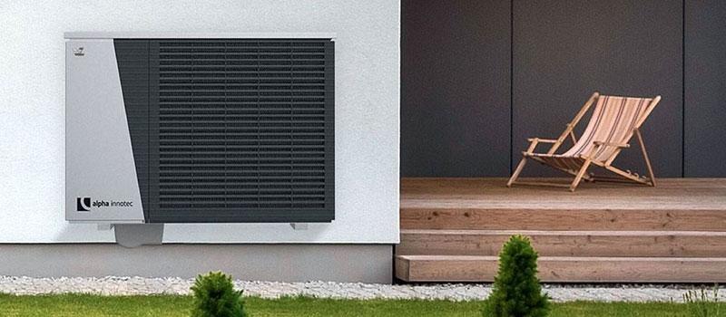 Alira warmtepomp met een watertemperatuur tot 70°C, te gebruiken met bestaande radiatoren!