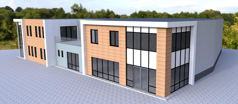 Nieuwbouw Duurzaamheidscentrum Verhees en van Dijk