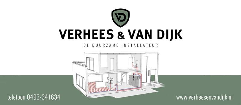 Verhees en van Dijk, erkend installateur Techniek Nederland en InstallQ voor duurzame energie