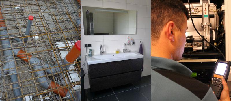 Verhees en van Dijk, uw ervaren, erkende installateur voor duurzame energie (bijv. warmtepompen), verwarming en loodgieterswerk